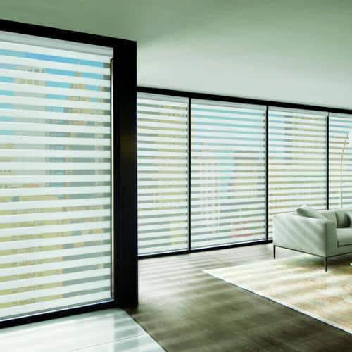 banded shades / zebra shades / layered shades