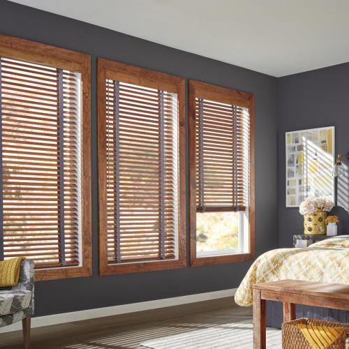 graber wood blinds