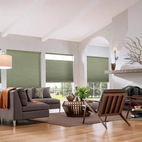 honeycomb shades / cellular shades